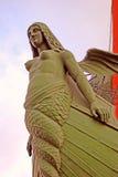 Dziobowy szpaltowy szczegół, Petersburg, Rosja Fotografia Royalty Free