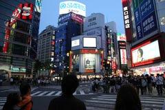 Dzisiaj wieczór przy Shinjuku Fotografia Royalty Free