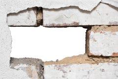 dziurę do ściany Obrazy Stock