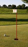 dziur 7 golfowych liczb Obrazy Royalty Free