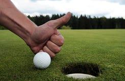 dziura do golfa Obrazy Stock