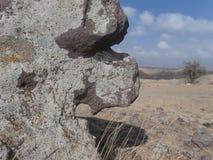 Dziura na skale Obraz Stock
