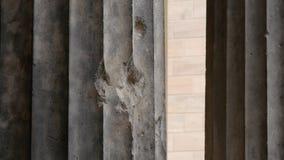 Dziura po kuli i wojenna szkoda od wojny światowa 2, Berlin, Niemcy obrazy stock