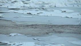 Dziura wśród lodowych muld zbiory wideo