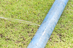 Dziura w wężu elastycznym zdjęcia stock