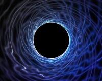 dziury błękitny vortex Obraz Royalty Free
