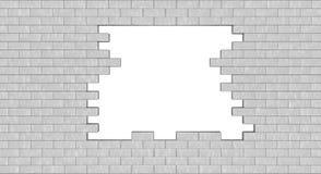 dziury ściana Obraz Royalty Free