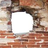 dziury ściana zdjęcie royalty free