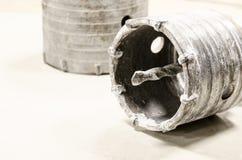 dziury saw dla betonu Zdjęcia Royalty Free