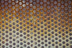 Dziury siatki wzór Zdjęcie Stock