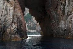 dziury skała Obraz Stock
