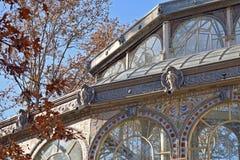 Dziwaczna architektura w Madryt zdjęcia royalty free