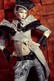dziwaczna dziewczyna Zdjęcie Royalty Free