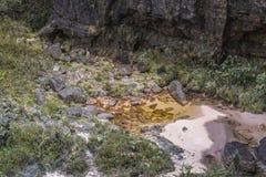 Dziwaczne antyczne skały plateau Roraima tepui - Wenezuela, Obraz Stock