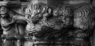 Dziwaczne istoty na cathedralszpaltowych Obrazy Stock