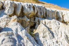 Dziwaczne postacie rzeźbić w glinianych piaskach Zdjęcie Stock