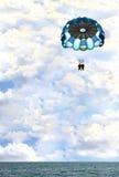 dziwaczności parasailing obrazy royalty free