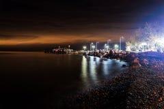 Dziwaczny Afterglow Po zmierzchu W Cinarcik, Turcja - Fotografia Royalty Free