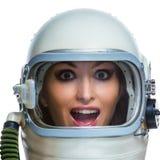 Dziwaczny astronauta fotografia stock