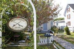 Dziwaczny domu znak, Chesapeake Fotografia Royalty Free