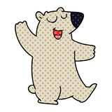 dziwaczny komiksu stylu kresk?wki wombat ilustracji