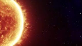 dziwaczny słońce zbiory wideo