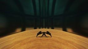 Dziwaczny skorpionu disappearin zbiory