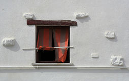dziwne okno obraz stock
