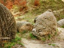 dziwnie rock Romania Obraz Stock