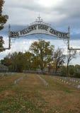Dziwnych kumpel cmentarza Stare ziemie obraz royalty free