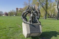 Dzok la estatua del perro imagenes de archivo