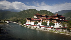 Dzong Fotografie Stock
