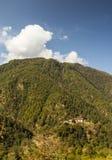 Dzong Bhutan Photographie stock