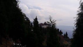 Dzong Dagana Стоковое Изображение