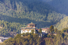 The dzong of jakar, Bhutan Royalty Free Stock Photo