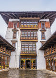 The dzong of jakar, Bhutan Stock Photo