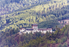 The dzong of jakar, Bhutan Stock Images