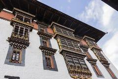 The dzong of Paro Royalty Free Stock Photos