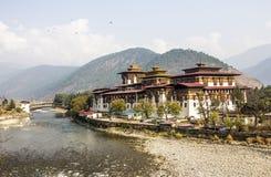 Dzong Punakha Obrazy Stock