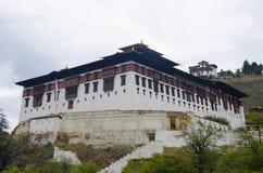 Dzong Rinpung Большие монастырь и крепость Drukpa Kagyu буддийский Paro стоковое изображение rf