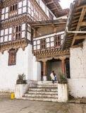 The dzong of Trongsa Royalty Free Stock Photos