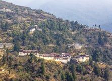 Dzongen av Trongsa Royaltyfri Bild