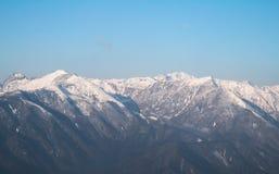 Dzongri scenic sikkim indai Royalty Free Stock Photo