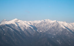Dzongri scenisk sikkim indai Royaltyfri Foto