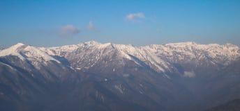 Dzongri Sikkim sceniczny indai Zdjęcie Stock