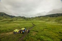 Dzuko dolina, Nagaland, India fotografia royalty free