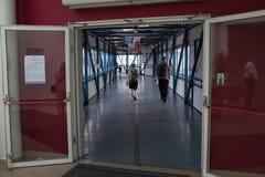 Dzwi otwarty na promu Stena duchu. Fotografia Royalty Free
