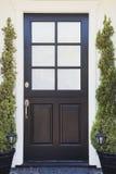 Dzwi wejściowy ekskluzywny dom Zdjęcie Stock