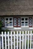 Dzwi Wejściowy w Wustrow, Darss, Niemcy Obrazy Stock