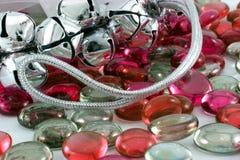 dzwonów bożych narodzeń srebro Zdjęcie Stock